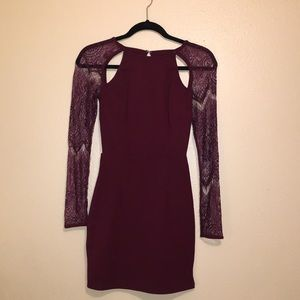 Lace Sleeve Bodycon